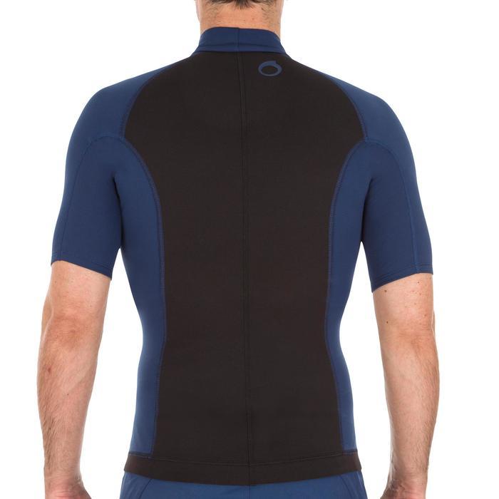 tee shirt anti UV surf top néoprène polaire thermique manches courtes homme - 1118916
