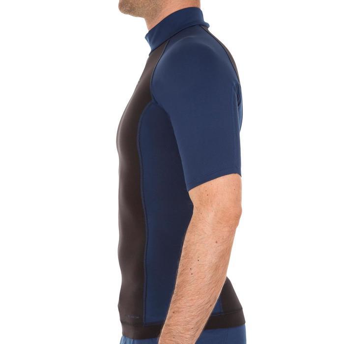 tee shirt anti UV surf top néoprène polaire thermique manches courtes homme - 1118920