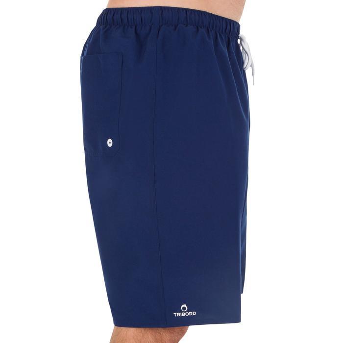 Hendaia 男款衝浪運動海灘褲-深藍色