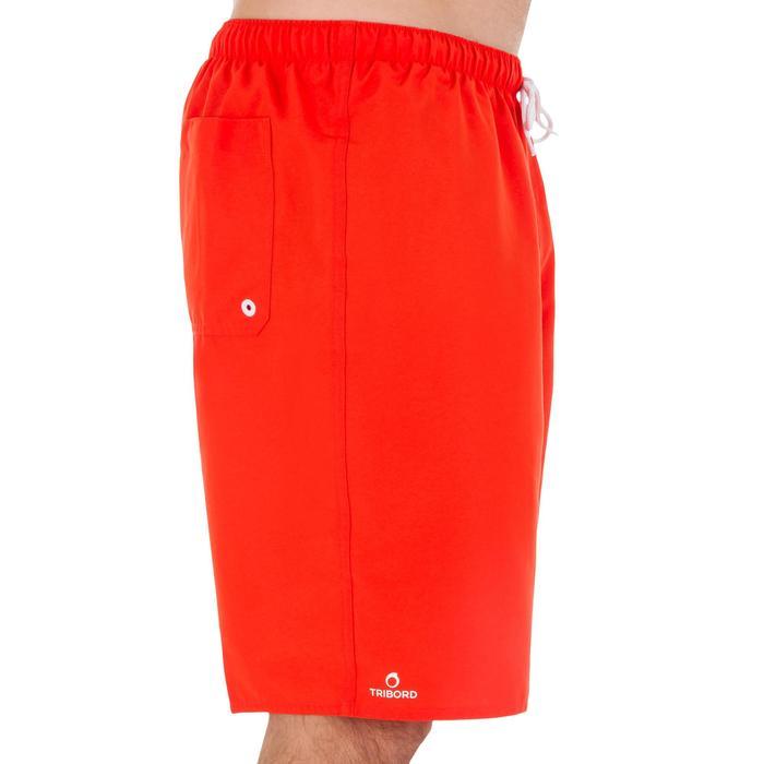 Hendaia 男款衝浪運動海灘褲- 紅色