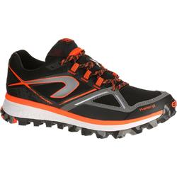 Trailschoenen voor heren Kiprun Trail MT zwart oranje