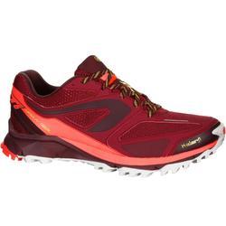 Kiprun Trail XT6 女性越野跑步運動鞋 - 栗色