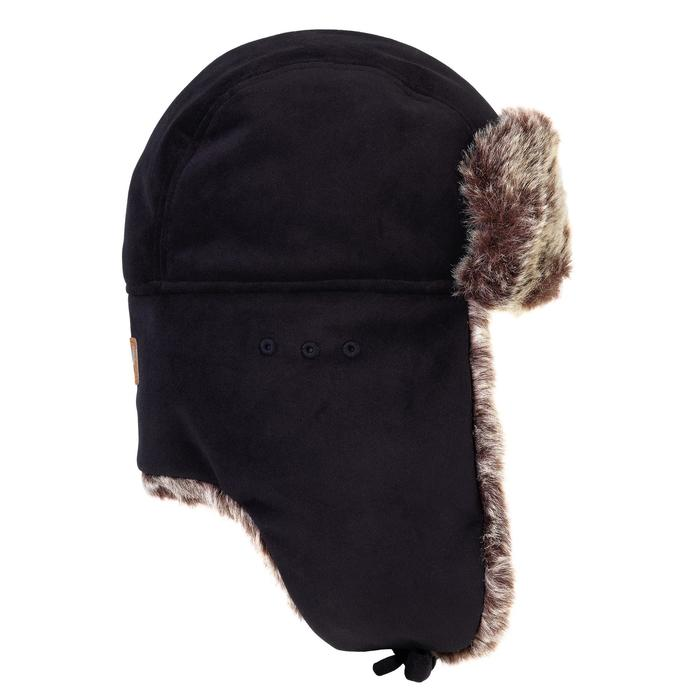 079370e66fe Beanie Toundra 500 Faux Fur Hunting Hat - Brown - Decathlon