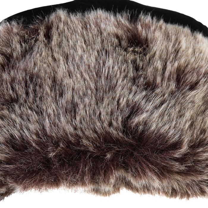 打獵毛帽chapka Toundra 500-黑色