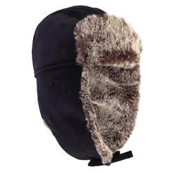 Toundra 500 chapka fur hunting hat - black