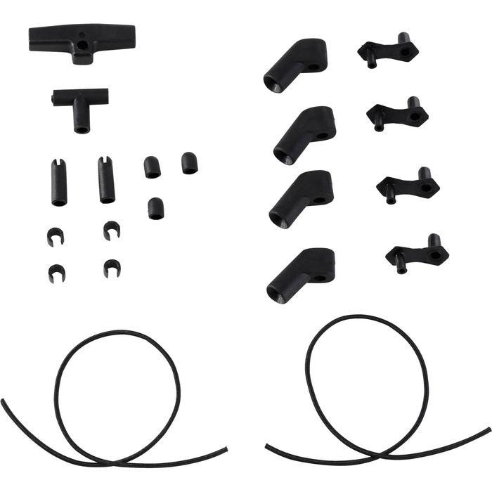 Set verbindingsstukken 6 mm