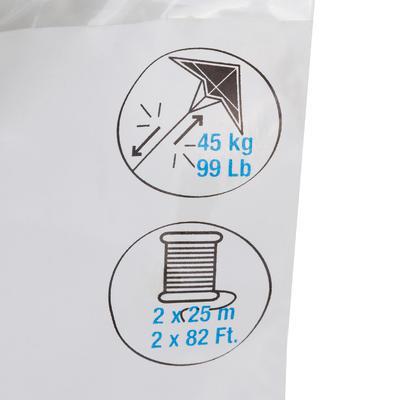 خيوط طائرة ورقية من البوليستر 2×25 م