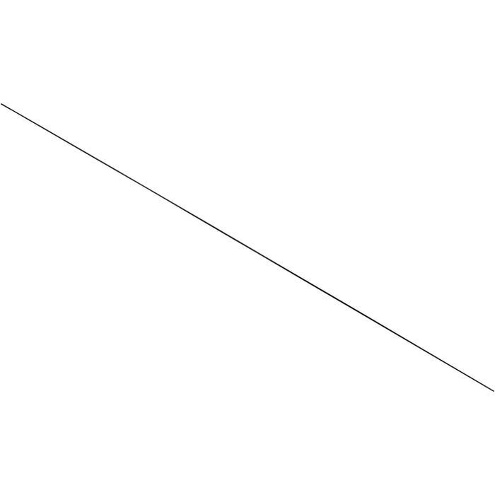 Junco de fibra de vidrio de 3 mm x 120 cm