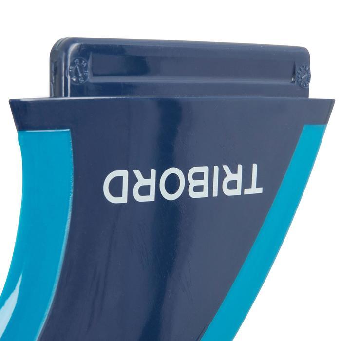 "Quilla 4.5"" Soft Edge azul para tablas 900 de espuma."