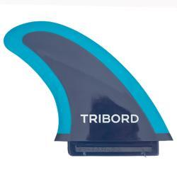 """Aileron 4.5"""" soft edge  bleu pour surf 900 mousse ."""