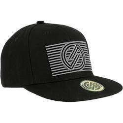 Skatepet voor kinderen CAP500 logo cube full black