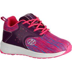 Schoenen op wieltjes Heelys Velocity paars/roze