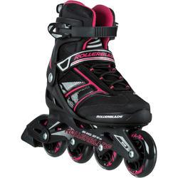 Fitness skates Bravo Rollerblade voor dames zwart/roze
