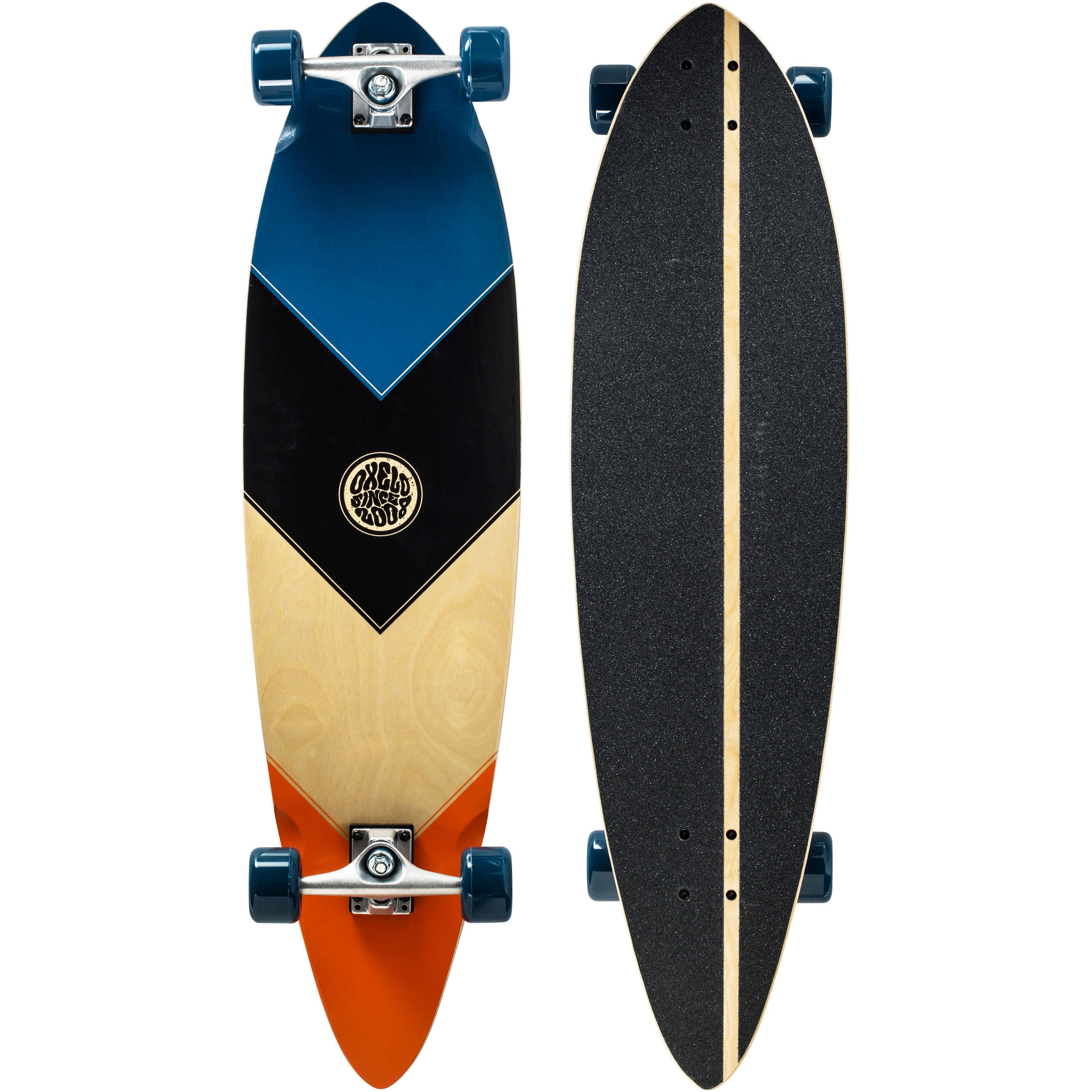 Beginner Root Longboard - Blue