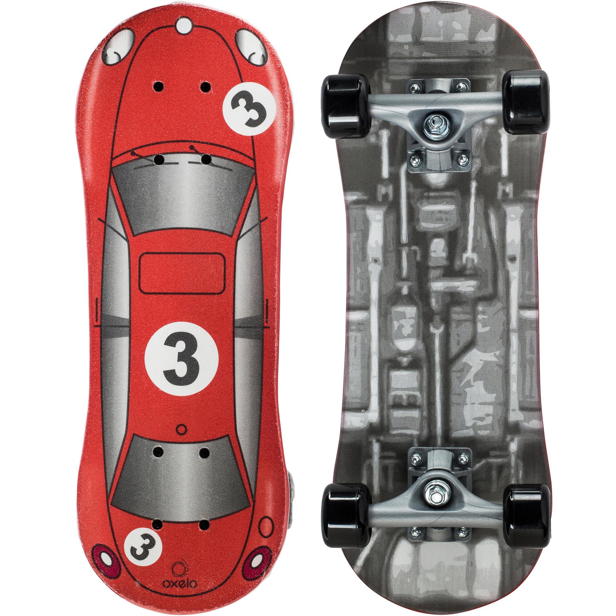 Play 1 Red Racer Kids Skateboard Oxelo