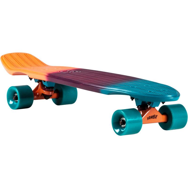Cruiser Skateboard Big Yamba - Blue/Coral Verlauf - Keine Größe.