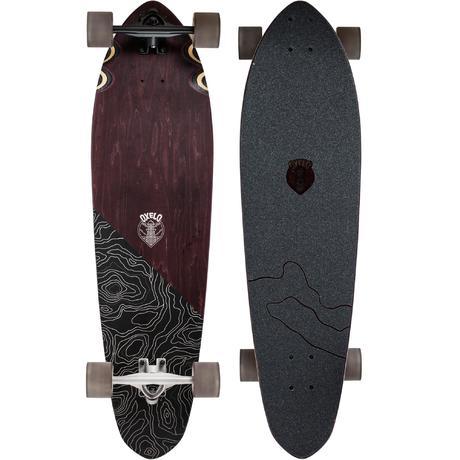 Classic Topo Longboard - Brown | oxelo