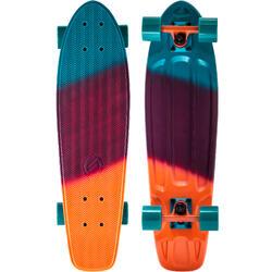 Cruiser skateboard Big Yamba gradiant koraalrood/blauw