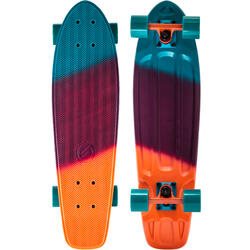 Cruiser skateboard Big Yamba gradiant koraalrood/blauw