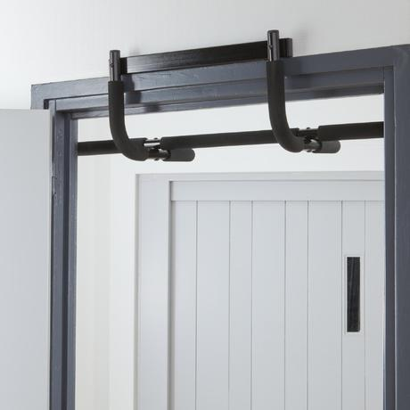 500 pull up weight training bar domyos by decathlon for 10 minute trainer door attachment
