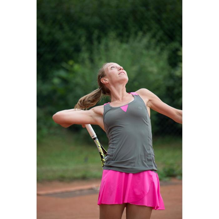 Tennisrokje Light 900 roze-kaki