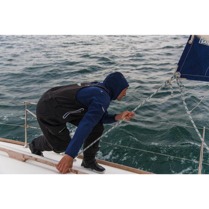 Salopette de quart Ozean 900 Homme imperméable et respirant Noire - 112040