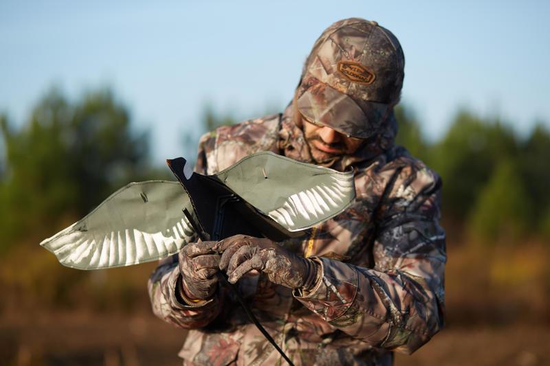 ถุงมือส่องสัตว์น้ำหนักเบาเป็นพิเศษรุ่น ACTIKAM 100 (สีน้ำตาลลายพราง)