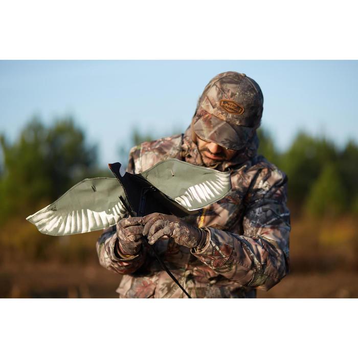 Gants chasse Actikam 300 camouflage marron - 1120407