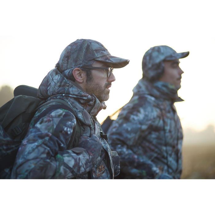 Veste chasse imperméable chaude 500 Actikam camouflage - 1120408