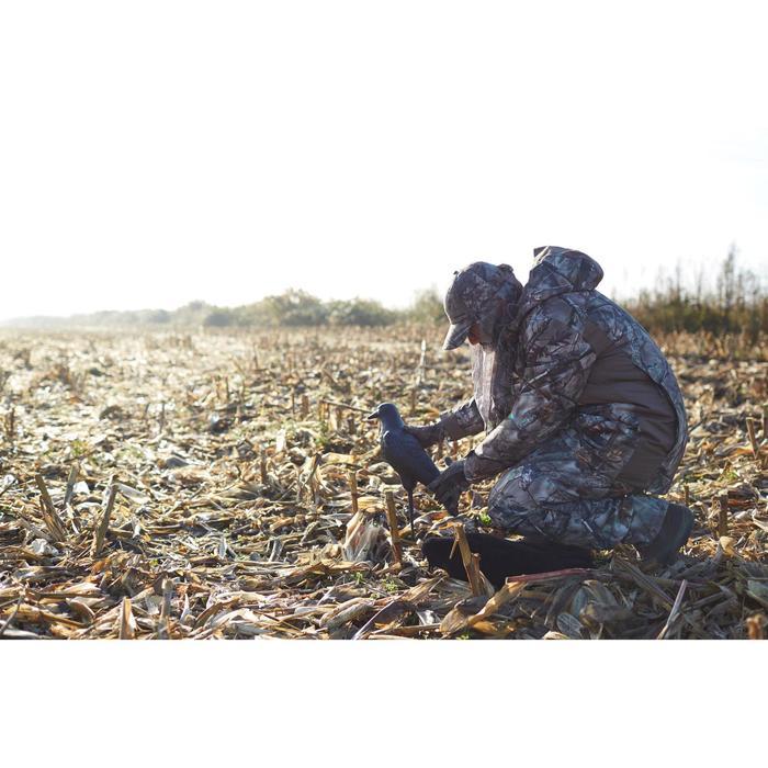 Veste chasse imperméable chaude 500 Actikam camouflage - 1120413