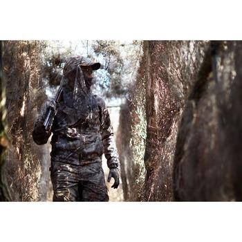Fleece jagersjas Actikam 300 camouflage bruin
