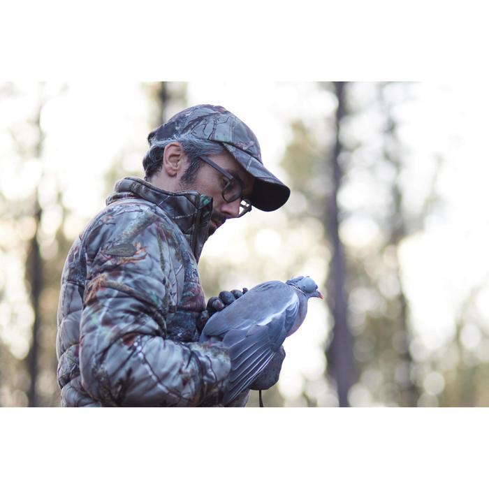 Veste chasse silencieuse Actikam 500 camouflage marron - 1120415