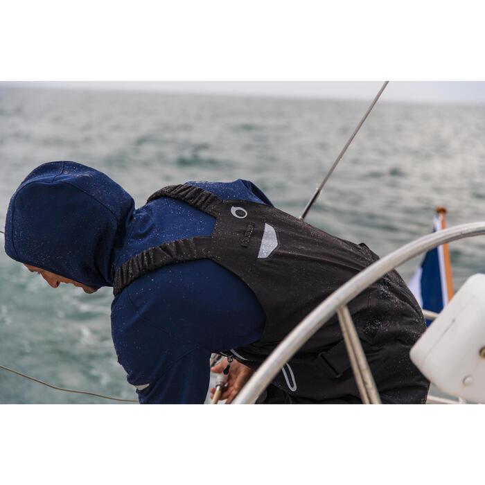 Salopette de quart Ozean 900 Homme imperméable et respirant Noire - 112042