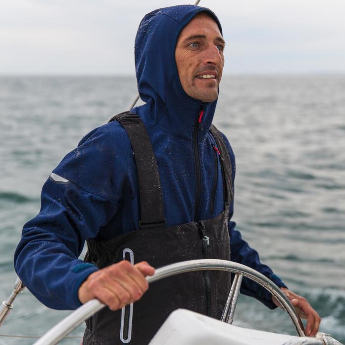 Salopette de quart Ozean 900 Homme imperméable et respirant Noire - 112043