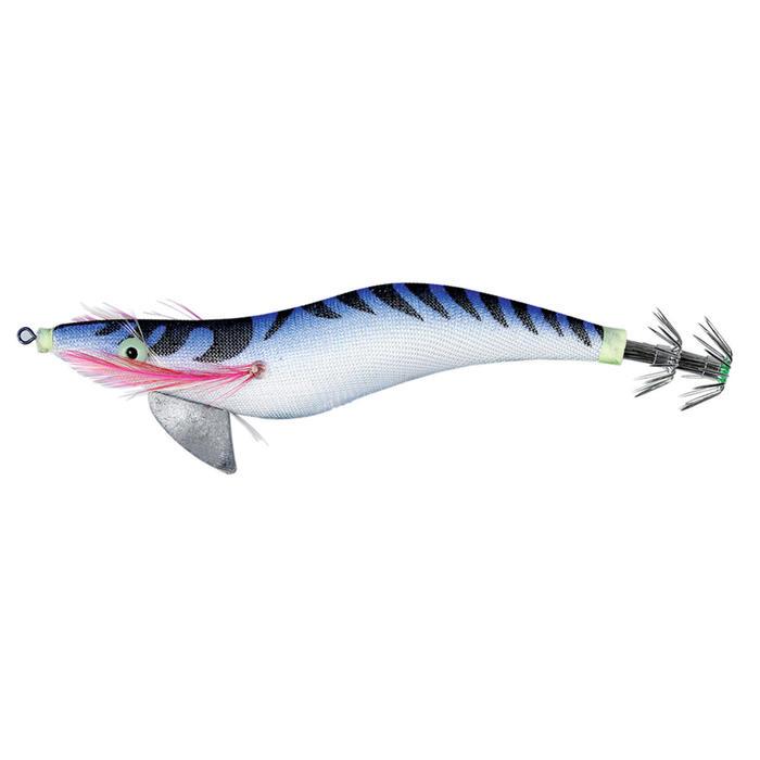 Turlutte EGI Plombé bleu 3.5 12cm pêche des seiches/calamars