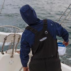 Waterdichte en ademende hoge zeilbroek Ozean 900 voor heren zwart - 112044