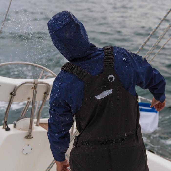 Salopette de quart Ozean 900 Homme imperméable et respirant Noire - 112044