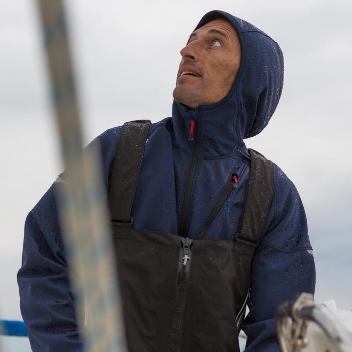 Salopette de quart Ozean 900 Homme imperméable et respirant Noire - 112046