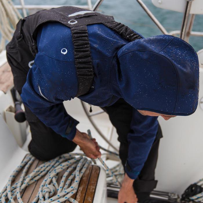Salopette de quart Ozean 900 Homme imperméable et respirant Noire - 112047