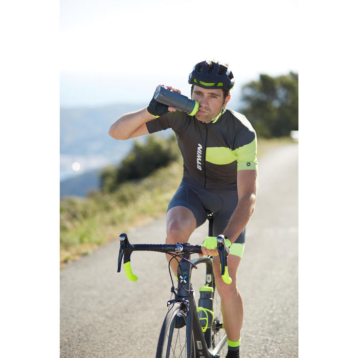 Bidón ciclismo 600 ml gris