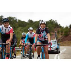 自行車運動脖圍100 - 黑色/粉紅色