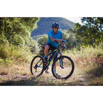 MAILLOT MANGA CORTA CICLISMO CARRETERA HOMBRE ROADCYCLING 100 AZUL