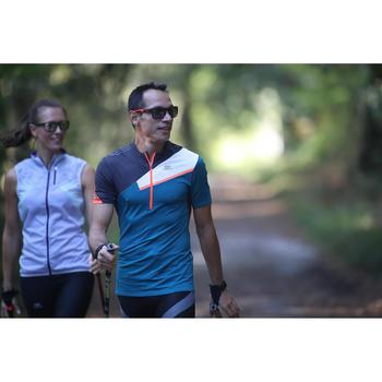 MH 580 Category 3 Hiking Sunglasses - Black & Red