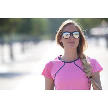 lunettes de soleil de marche sportive adulte WALKING 400 bleues catégorie 3 - 1120706