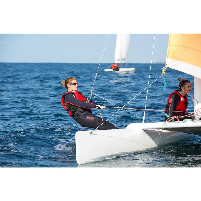 Gafas de sol para vela adultos 900 gris, flotantes, polarizadas, categoría 3