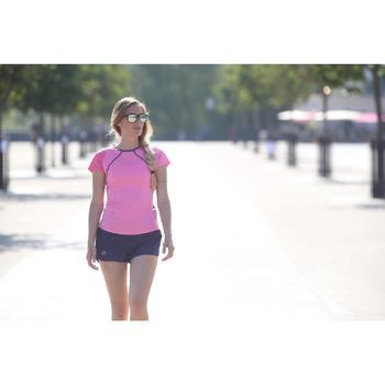 Lunettes de soleil de marche sportive WALKING 400 bleu-vert catégorie 3