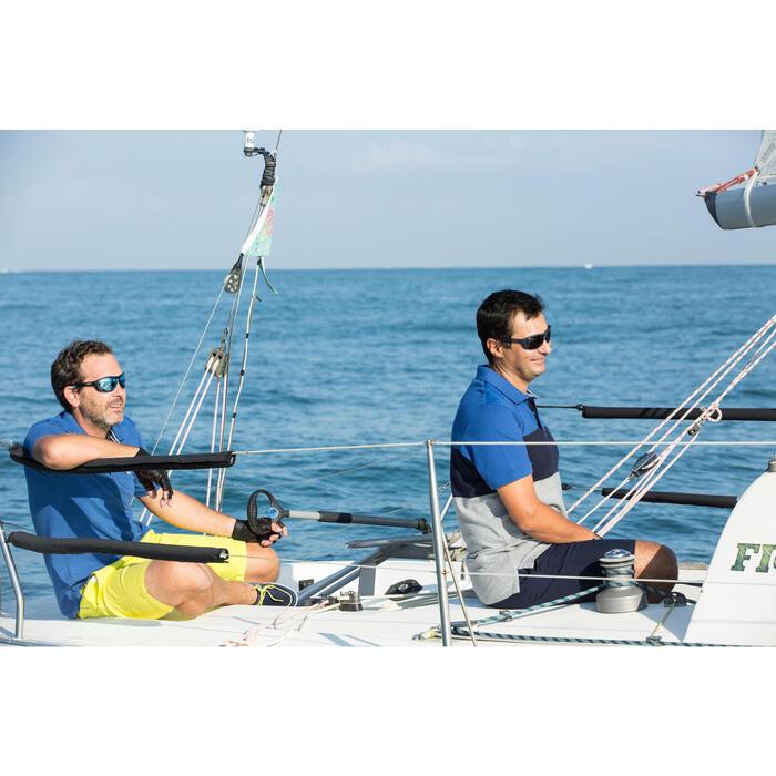 Watersportbril Sailing 600 voor volwassenen polariserend zwart cat. 3