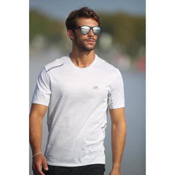 lunettes de soleil de marche sportive adulte WALKING 400 bleues catégorie 3 - 1120745