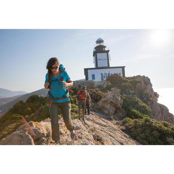 Zonnebril Hiking 300 zwart polariserend categorie 3