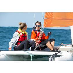Sailing 900 Adult Polarised Sailing Sunglasses Category 3 - Grey
